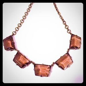 Chunky J. Crew Crystal Statement Necklace